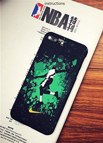 RONNEY'S Air Jordan Luminous PC BLACK Hard Case for Apple Iphone 7 & Iphone 8 DESIGN 12 Design 18