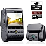 VIOFO Dash CAM A129 Duo Dual Channel Wi-Fi Full HD 1080P Front and Rear
