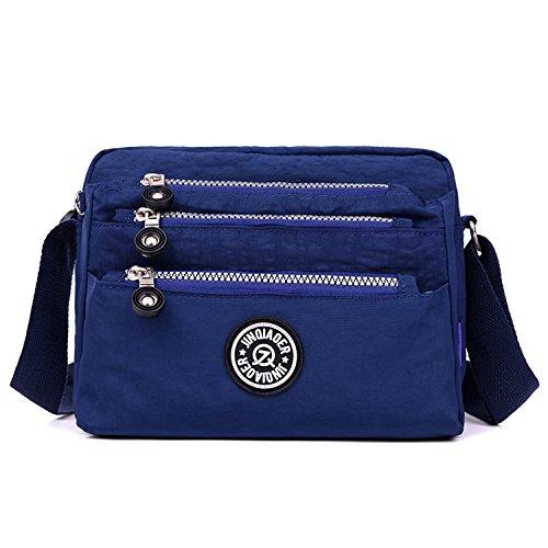 52603a4fde4dd Outreo Schultertasche Wasserdicht Sporttasche Damen Umhängetasche Mode  Designer Messenger Bag Taschen Leichter Kuriertasche für Mädchen Reisetasche