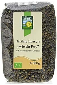 Bohlsener Mühle Linsen wie du Puy, 3er Pack (3 x 500 g Packung) - Bio