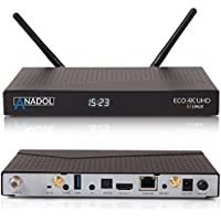 Anadol Eco 4K Satellite Receiver Linux UHD 2160p H.265 HEVC E2 Linux Dual Wifi
