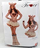 Giraffekostüm Kostüm Giraffe f Damen sexy Damenkostüm Tierkostüm 32-42, Größe:M