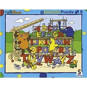 Schmidt Spiele - Puzzle con Marco de 9 Piezas