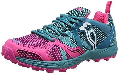 KOOKABURRA Illusion Schuh Hockey Schuhe, unisex, Illusion Shoe, Teal/Pink