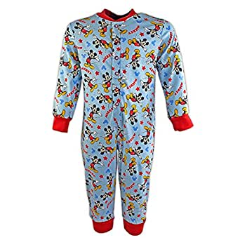 Mickey Mouse Sleepsuit | Mickey Mouse Onesie | Age 4 to 5 Years