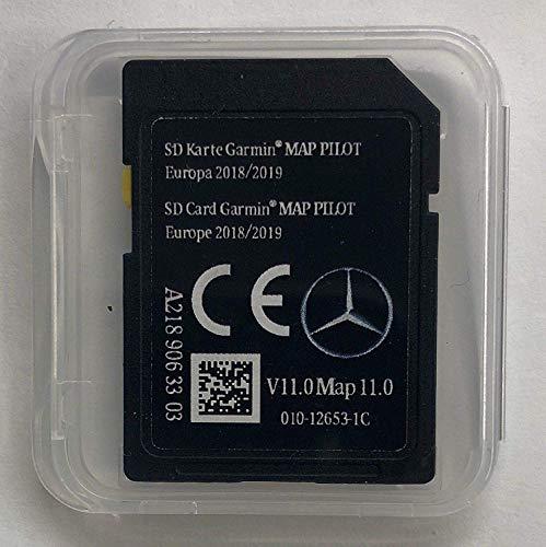 Mercedes Garmin MAP Pilot V11 MAP V11 EU 2018-2019 NAVI SD Card A2189063303