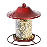 Best Perky-pet Bird Cages - Opus [Perky-Pet] Sparkle Panorama Feeder - Red Review
