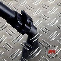 Chapa estriada de aluminio 1,5/2,0 mm 1500 x 3000 mm Duett chapa de aluminio para calentar en lágrimas chapa estriada