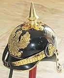 Deutscher Prediger Pickelhaube Helm Welt WarI & II Messing Spicked Medieval Helm