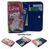 ZeWoo PU Leder Brieftasche für Elephone TRUNK (5,0 Zoll)