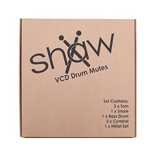 Shaw ssvcd01rhd Rock Drum Kit Lautstärkeregler Disk mit Becken - Mute Bass Drum