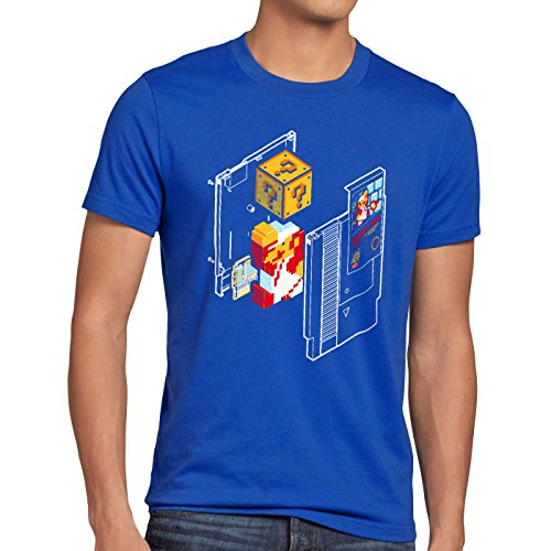 Style3 Plumber Bros T-Shirt Homme nes Snes Classic Mini 8-Bit Gamer Retro Classic