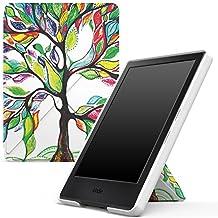 """MoKo Funda para All-New Kindle 8th Generación - Standing Origami Slim Shell Funda Con Auto Sueño / Estela para Amazon All-New Kindle E-reader (6"""" Display, 8th Generación 2016 Release), Árbol de Suerte (No es compatible con el kinlde paperwhite)"""