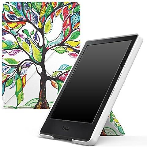 MoKo Funda para All-New Kindle 8th Generación - Standing Origami Slim Shell Funda Con Auto Wake/Sleep para Amazon All-New Kindle E-reader (6