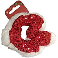 Ragazze/Donna Natale capelli elastico per capelli hairband Rosso/Bianco–Party Bag Fillers/Natale Calza di Natale