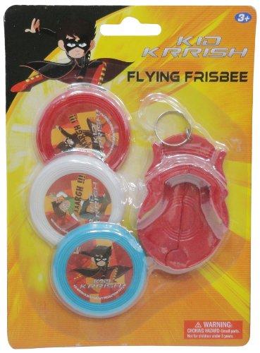 Impulse Kid Krrish Flying Frisbee, Red/White/Blue