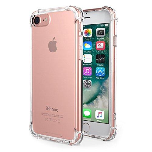 iBarbe iPhone 7Hülle Klar, anti-slippery, kratzfest, Slim, stoßdämpfend -