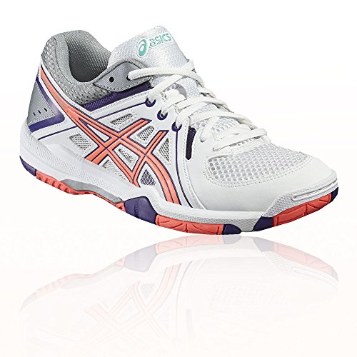 De Asics Blanc Pour Chaussures Femmes Volleyball Geltask Violet 8nqHUwF