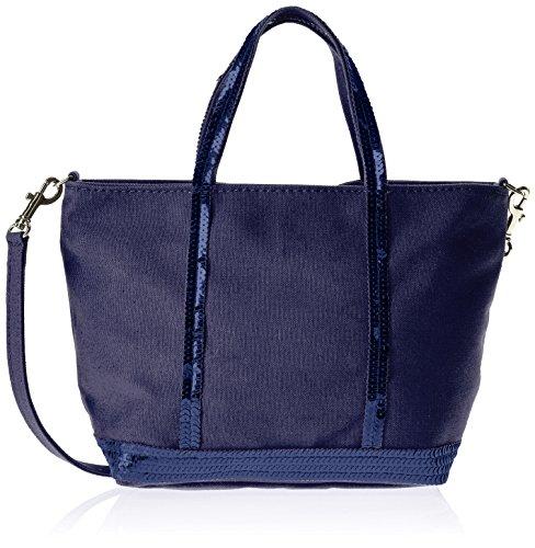 Vanessa Bruno Femme Baby Bag, Bleu (890 Indigo), Taille Unique