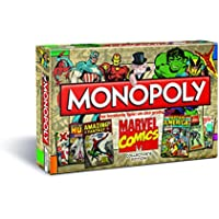Winning Moves 43270 - Monopoly: Marvel Comic Book