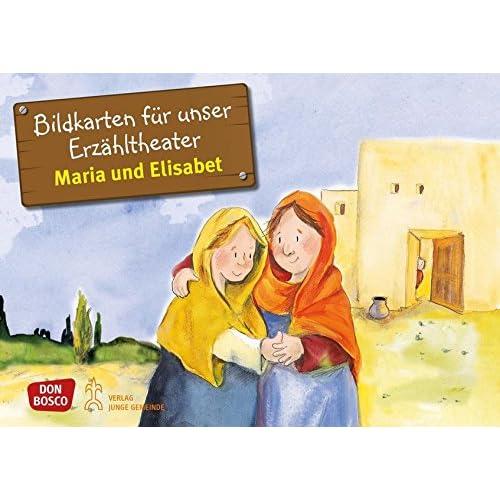 Maria und Elisabet: Bildkarten für unser Erzähltheater. Entdecken. Erzählen. Begreifen. Kamishibai Bildkartenset.