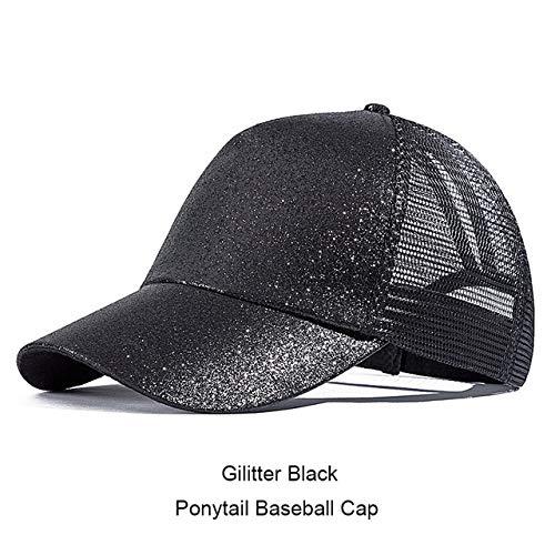 qqyz2323 Women Es Ponytail Baseball Cap Summer Mesh Baseball Cap Ladies Snapback Hat Female Brand Baseball Hat Bone C