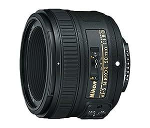 Nikon Obiettivo Nikkor AF-S 50 mm 1:1,8G, Nero [Versione EU]