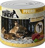 Tundra Hundefutter mit Pferd Nassfutter - getreidefrei (6 x 400g)