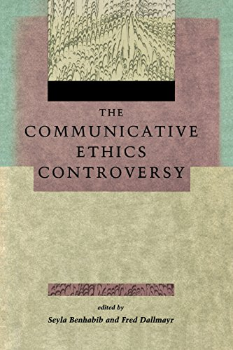 the-communicative-ethics-controversy-studies-in-contemporary-german-social-thought
