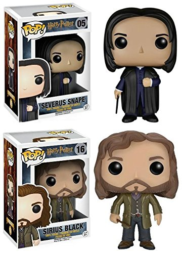 Funko POP! Harry Potter: Severus Snape + Sirius Black