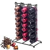 Kapselständer Kaffee POD Aufbewahrung Schublade Kaffeemaschine stehen für–42Kaffee Pods Dolce Gusto Kaffee Kapsel Schubladen Organizer. (schwarz)