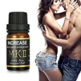 Skymore Olio di massaggio sensuale per il sesso, miglioramento della prestazione, potenza di rinforzo, energia, olio essenziale puro al 100% per gli uomini 10ml