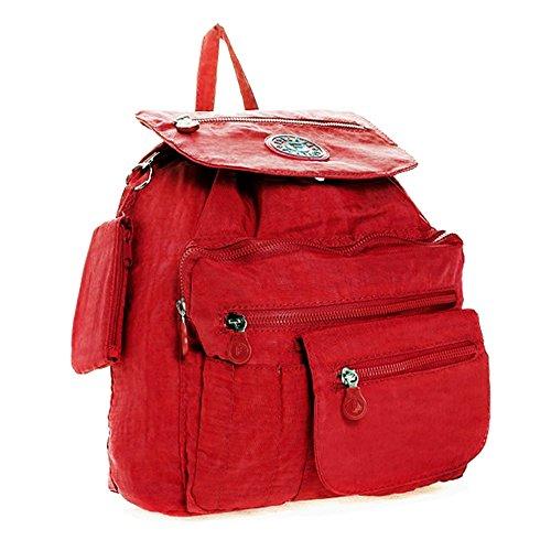 YourDezire , Sacs portés dos Unisexe - Adulte rouge