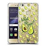 Head Case Designs Was Zum Guac Alles Ueber Avocados Soft Gel Hülle für Huawei P8 Lite (2017)