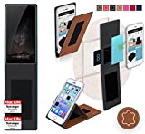 Cover for Nubia Z11 Max Case | in Brown Leather |