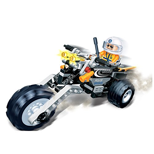 Banbao-140-Piece-Police-Motorbike-Compatible-with-the-Leading-Brand-Boy-Boys-Child-Kids-Quality-Building-Blocks-Toy-Perfect-Gift-Idea-for-Xmas-Christmas-Age-5