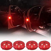Luces de Advertencia de la Puerta del Coche, Luces de Seguridad LED Abiertas con Rojo