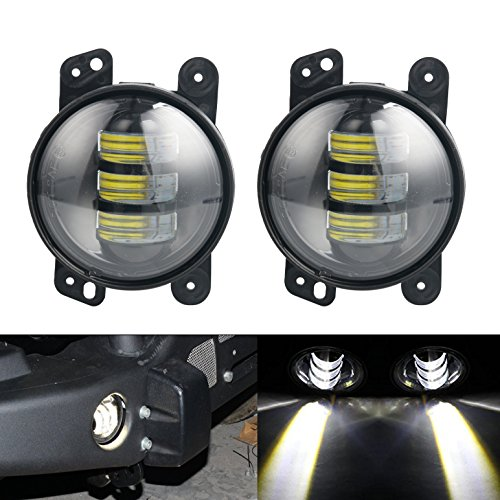 ebelscheinwerfer Auto Len Projektor Scheinwerfer fahren offroad Lampe vorne Bumper Leuchten ()