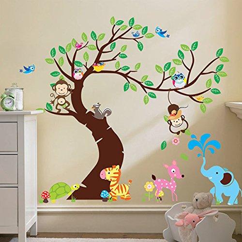 1pcs-sticker-mural-animaux-arbre-plante-f-r-enfants-enfants-murale-amovible-diy-dcorazione-house-hot