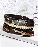Young-Forever-MenTastic-Angel-Wings-Multilayer-Leather-Beads-Feather-Charm-Unisex-Bracelet-B55326