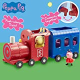 Peppa Pig 06152 Miss Rabbits Train and Carriage Toy