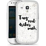 Samsung Galaxy S3 mini Hülle Case Handyhülle Tanz mal Sprüche Statement