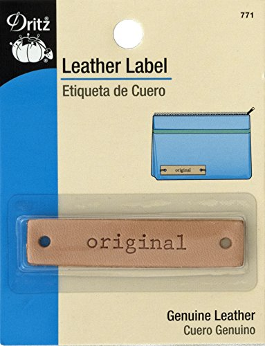 Dritz Cuir Label-Rectangle-Original-1 CT, Original-Rectangle