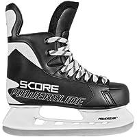 Powerslide Pattini da ghiaccio Score, Nero (Schwarz), 44