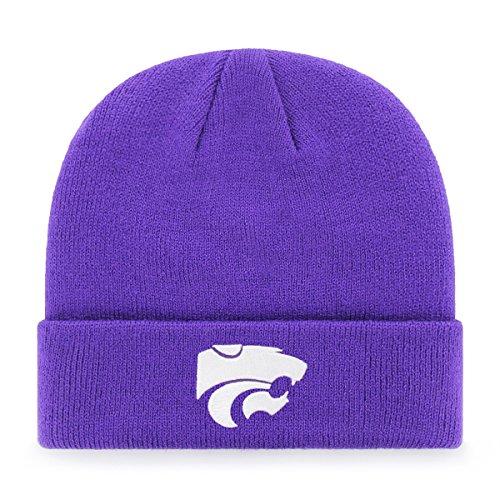 NCAA OTS erhöhte Cuff Knit Cap, Unisex - Erwachsene, NCAA OTS Raised Cuff Knit Cap, violett, Einheitsgröße -