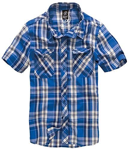 Bandit Hemd Roadstar Karo Blau 5XL -