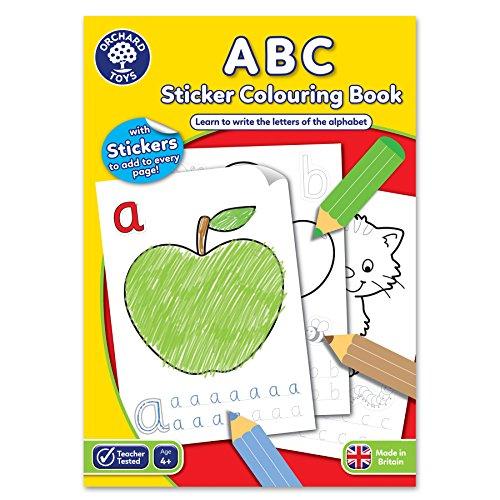 Orchard Toys-Libro da colorare, motivo: lettere dell'alfabeto, multicolore