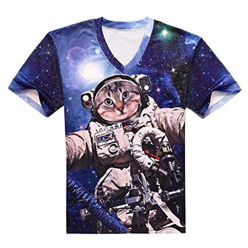 3d-t-shirt-galaxie-space-star-chat-kitterns-tee-shirts-pour-hommes-garcons