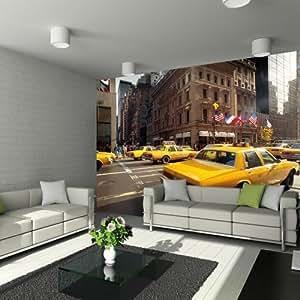 Image géante à tapisser Taxis Manhattan MAXIMAGE Mur