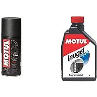 Motul C2 Chain Lube for All Bikes (150 ml) & Motul Inugel Expert Coolant (1 L)